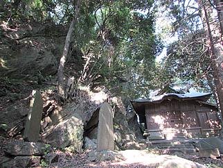 11 龍神山・波付岩