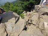 『女体山山頂の斑れい岩』の画像