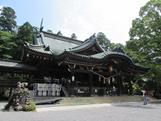 『筑波山神社拝殿』の画像