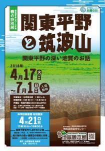 『関東平野と筑波山』の画像