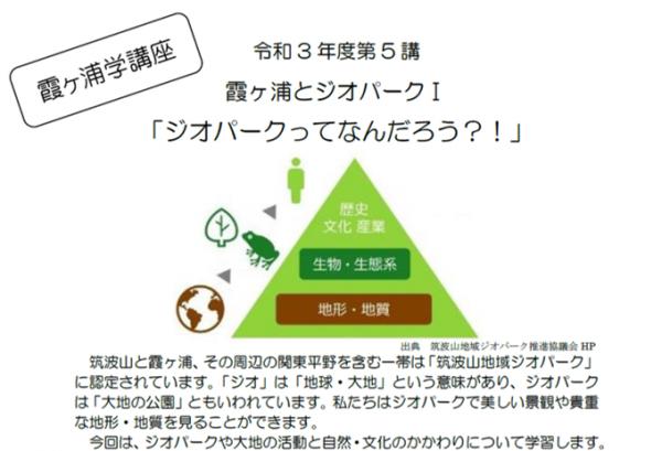 『霞ヶ浦学講座R3-5』の画像